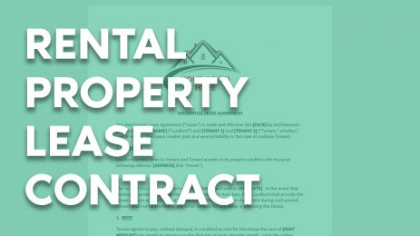 Rental Property Lease Contract